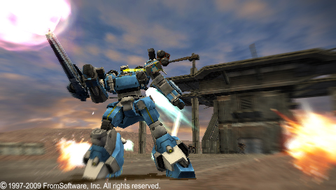 Armored Core Silent Line Portable - 04