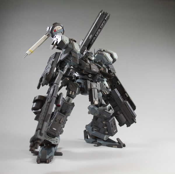 BlackRain01 Now THATs an ARMORED Core: Black Rain
