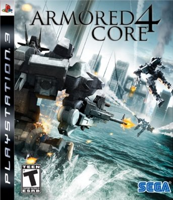 Armored Core 4 Box Cover