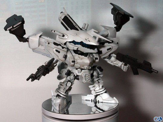 D-Style Line Ark White-Glint is targeted for a Japanese Spring release, price TBA.
