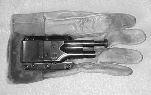 OSS pistol Glove Armored Core Analogs: Parrying Blades